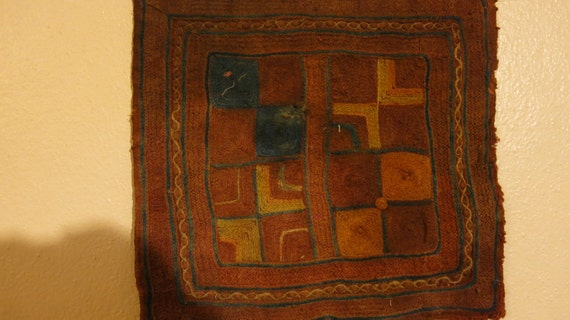 1 Banjara Gypsy Desert Panel - Antique 25X25