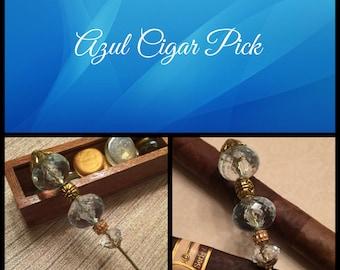 Azul Cigar Pick, Cigar Poker, Cigar Holder, Nubber, Cigar Accessory, Cigar Life, SOTL, BOTL,