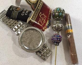 Mardi Gras Cigar Sticks, Cigar Poker, Cigar Nubber, Cigar Roach Pick
