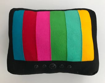 Tv Luka the Pau/embroidered cushion/