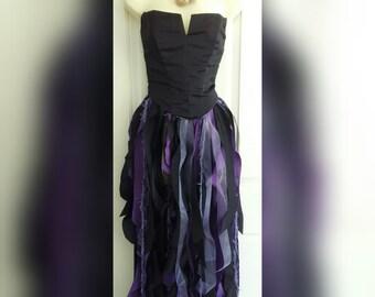 0e01cc8c1 Ursula Inspired Shabby Tutu, Ursula Skirt, Child to Adult, Sea Witch Tutu, Ursula  Costume, Made to Order Ursula Tutu, Maleficent Costume