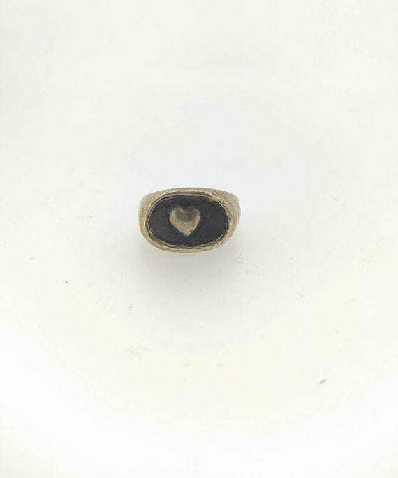 Signet ring/silver 925/art Jewelry/last wax tecnique/Hand made Jewelry/woman and man rings/love ring/Heart ring/Jewelry addict/cool ring