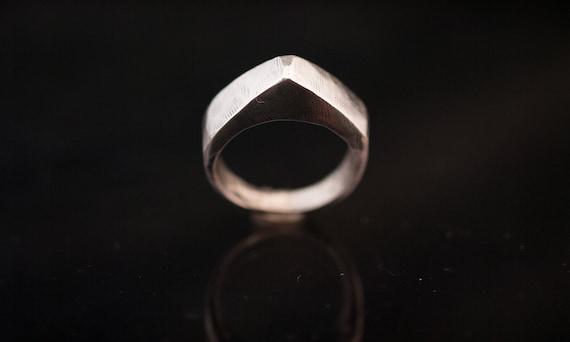 silver ring// hand made// 925 silver // man ring//woman ring//hipster ring//biker ring//free shipping