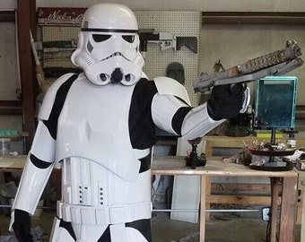 Star Wars Rogue One Stormtrooper Assembled Options Armor and Helmet Prop Costume