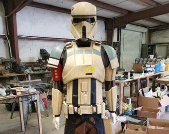 Star Wars Shoretrooper Assembled Options Armor and Helmet Prop Costume