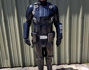 Rogue One Death Trooper Built Ready To Wear Costume Basic Armor Only 501st