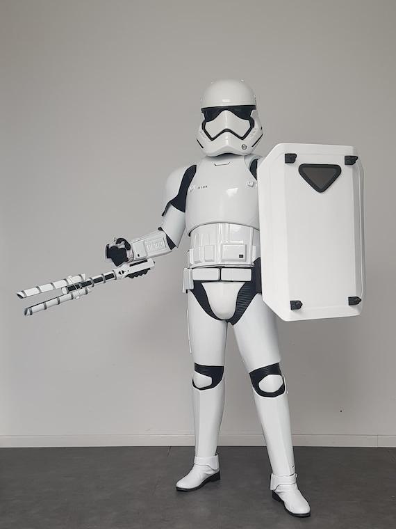 Stormtrooper Full Style First Order Costume Star Wars Mens Zip Up Hoodie