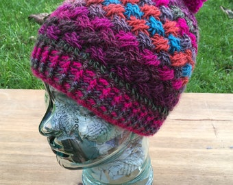 Celtic Weave Crochet Hat