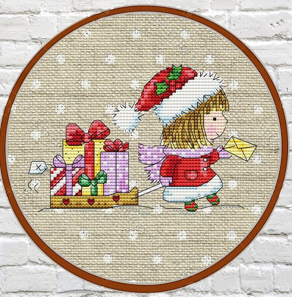 SALE Christmas Cross Stitch Patterns Counted