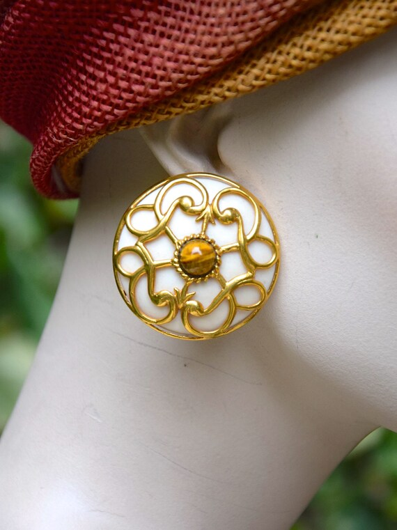 ISABEL CANOVAS 1980 Baroque Earrings