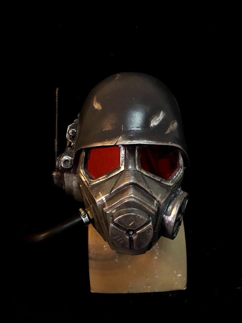 Fallout New Vegas Helmet Of Veteran Ranger Ncr By Maskcraft Etsy