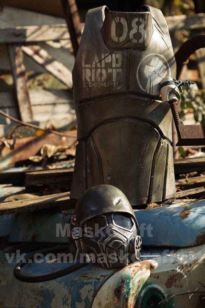 Fallout New Vegas Body Armor Of Veteran Ranger Ncr By Etsy