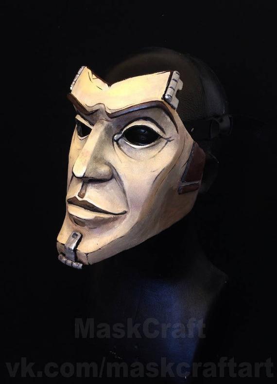 Handsome Jack mask from Borderlands videogame by Maskcraft