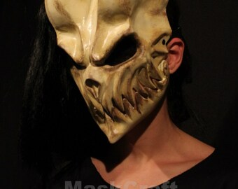 Demon's Mask by Slaughter to Prevail ( BEIGE COLOR!!!)