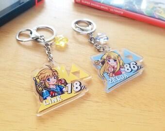 Smash LoZ Keychains