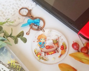 BOTW cooking time! Keychain