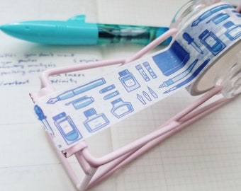 Journaling themed washi tape