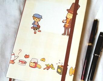 PL Teatime blank notebook