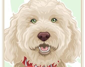 Stylized Pet Portrait