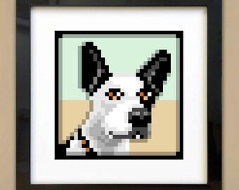 Pixel Pet Portrait