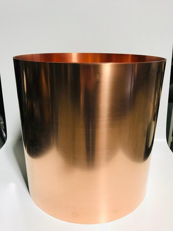 """Copper Roll Flashing 15"""" x 20/' 16 oz 24 gauge"""
