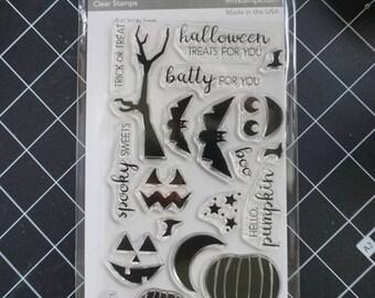 DESTASH: MFT Spooky Sweets Clear Stamp