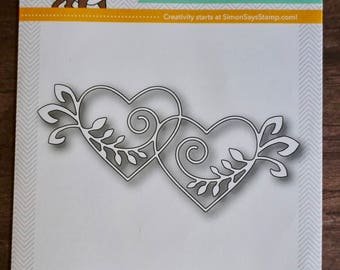 DESTASH: Simon Says Stamp Hearts Entwined Die