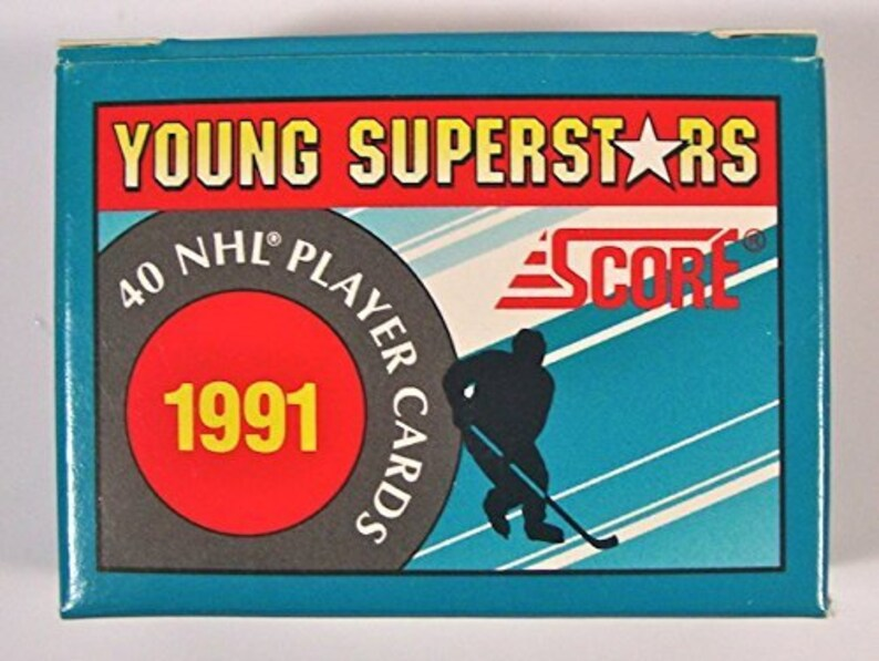 1991 Score Nhl Young Superstars Trading Card Factory Set
