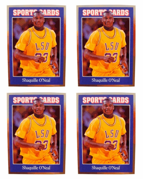 4 1992 Sports Cards 140 Shaquille ONeal Basketball