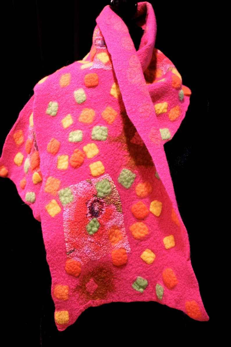 Jelly Beans felted wrap image 0