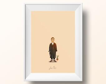 Jean Reno - Léon: The Professional Poster
