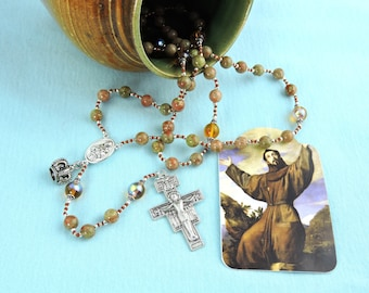 Franciscan Crowns Rosary and FREE Book!