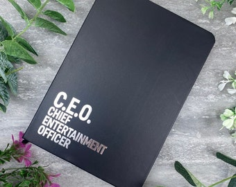Chief Entertainment Officer Note Book