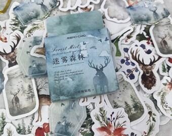 Woodland Winter Stickers