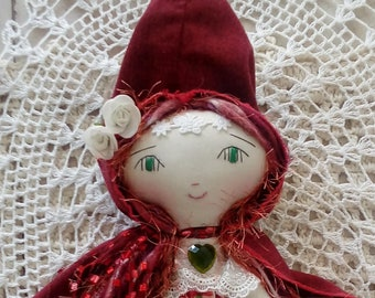 Clothdoll Red Riding Hood