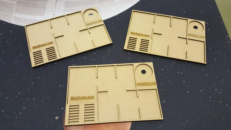 Star Wars X-Wing Card Organizer Ship and Upgrade Card Tray x 3 | Etsy