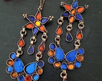 Afghan Dangler Earrings