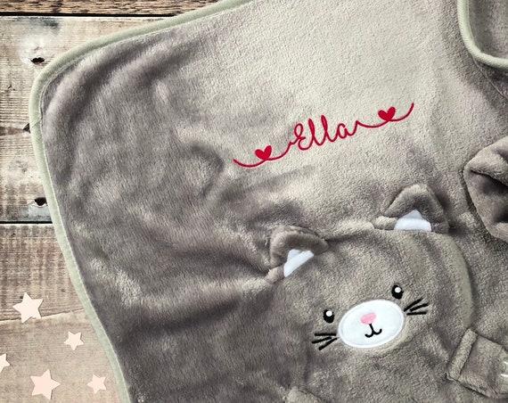Personalised Soft Fleece Baby Blanket