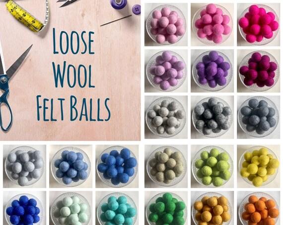 LOOSE Felt Balls