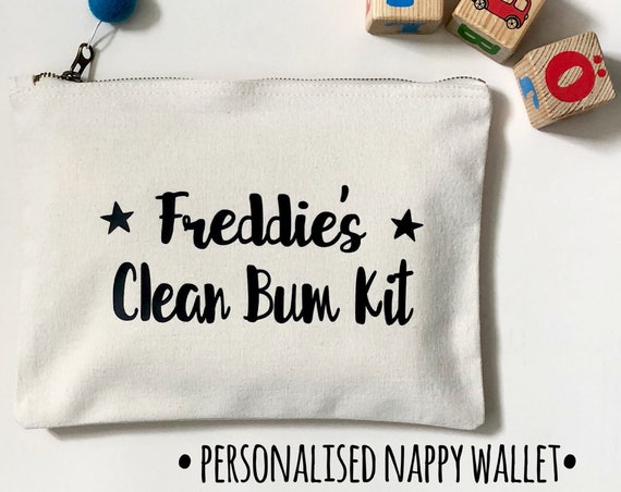 Personalised Nappy Wallet
