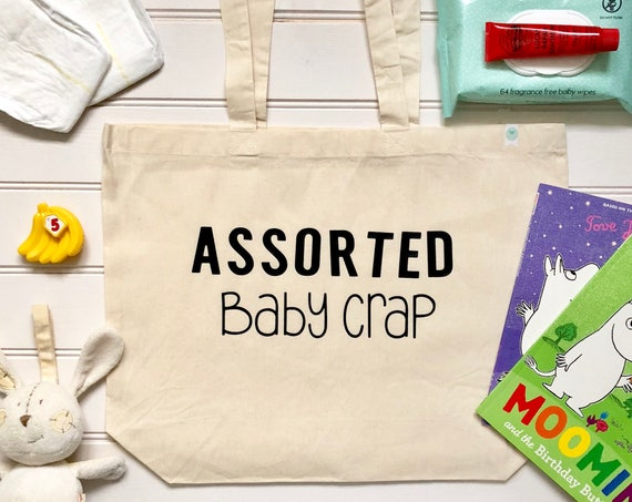 Assorted Baby Crap Cotton Tote Bag