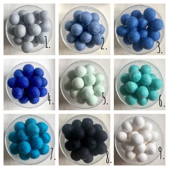LOOSE Felt Balls - Great for DIY Crafts