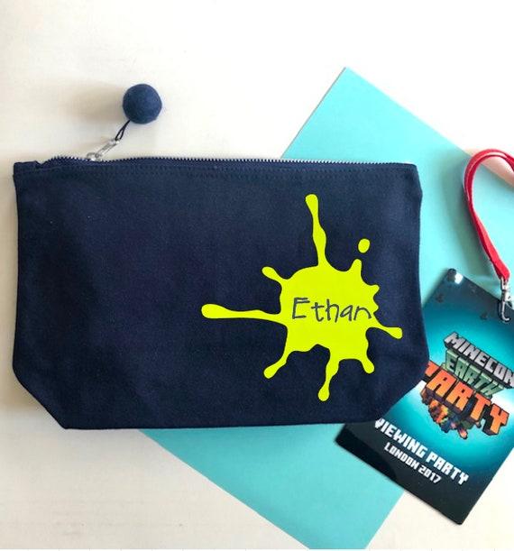 9b839c33d654 Personalised Wash Bag For Boy Travel Bag for Kids