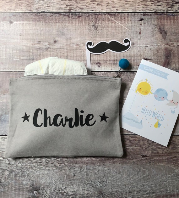Personalised Baby Pouch