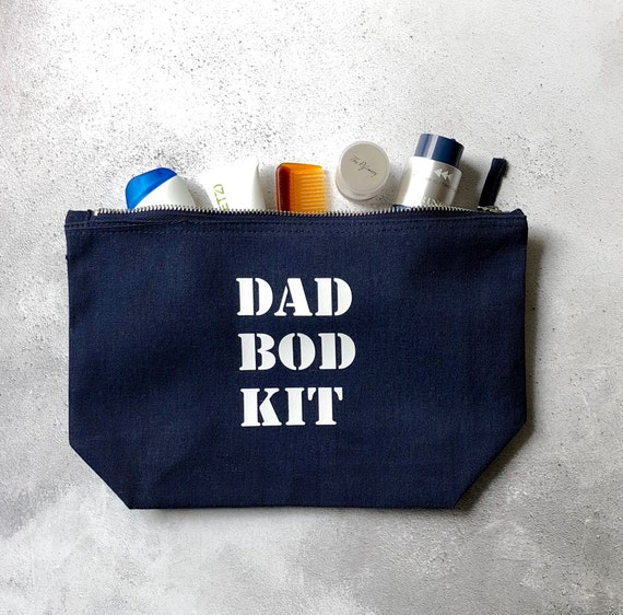 Dad Bod Kit Canvas Wash Bag