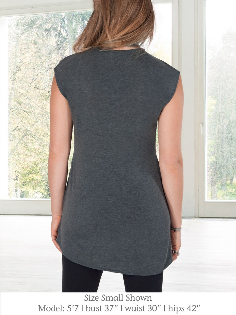 34c64f5044e Clothing Handmade Products Clio Black Minimalist Hacci Sweater Knit Tunic  from Erin Draper Sizes XS, S, ...