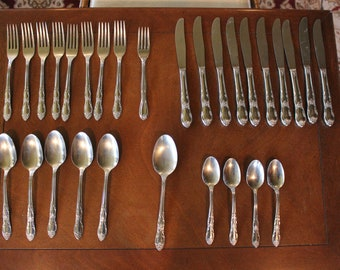 Oneidacraft OHS 103 THOR Stainless Steel Flatware Exellent Used Condition