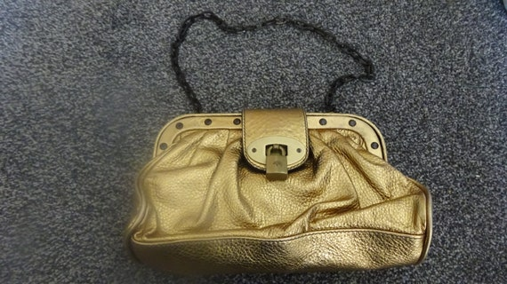 Vintage 70's Mulberry Leather Shoulder Bag ~ with