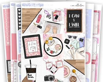 I Can Collection - Kit | Planner Stickers for Erin Condren Vertical Life Planner
