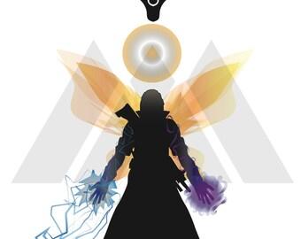 Destiny- Warlock artwork